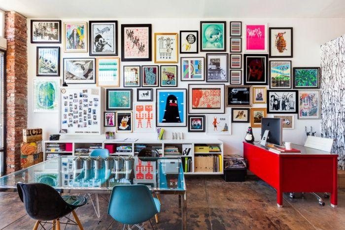 Erfrischende Akzente mit leuchtenden Farben auch im Büro oder Homeoffice setzten