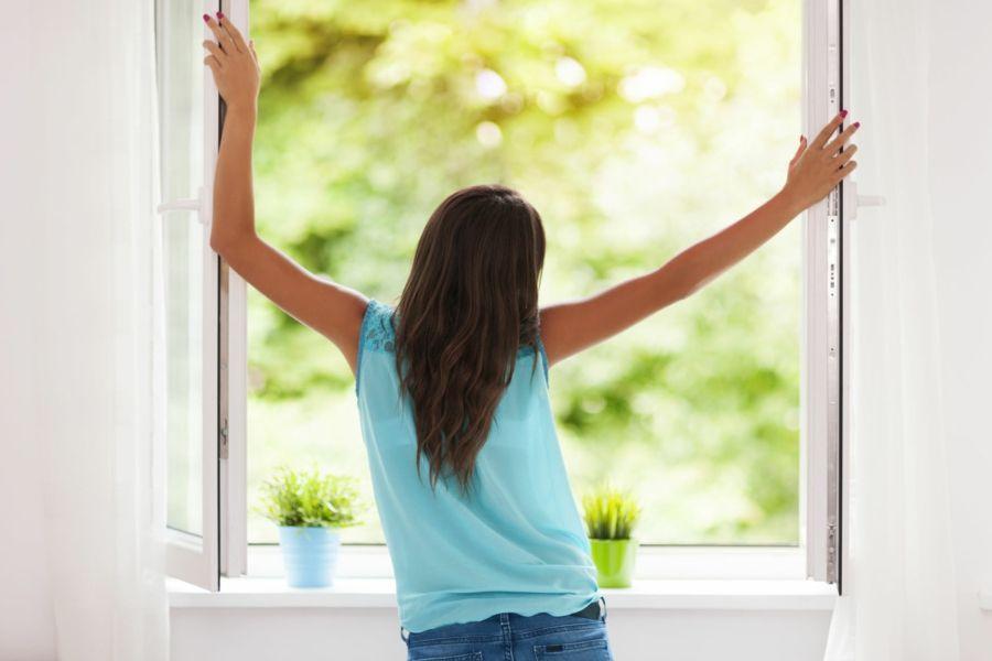Tageslicht und frische Luft bewirken Wunder