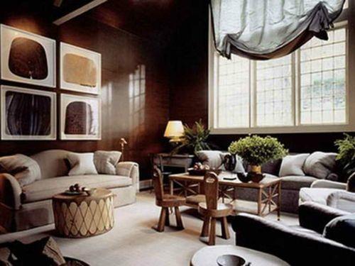 Gemütliches Feng Shui Wohnzimmer-Elemente in Feng Shui