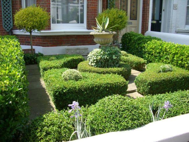 Hübsche Garten Idee vor dem Haus