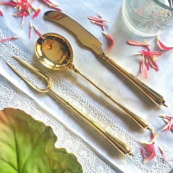 Handmade Brass Besteck