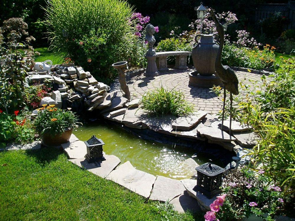 Harmonie im heimischen Garten mit Feng Shui