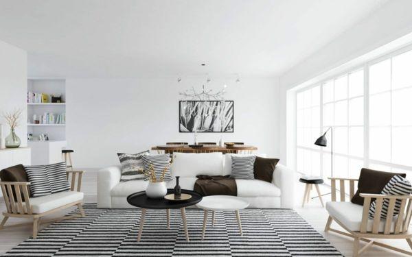 Harmonisches Ambiente im Wohnzimmer