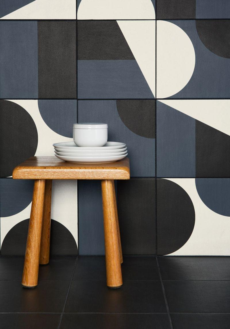 Die gebildeten Formen an der Wand hängen nur von Ihrer Kreativität ab.