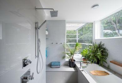 frisches gr n f rs badezimmer. Black Bedroom Furniture Sets. Home Design Ideas