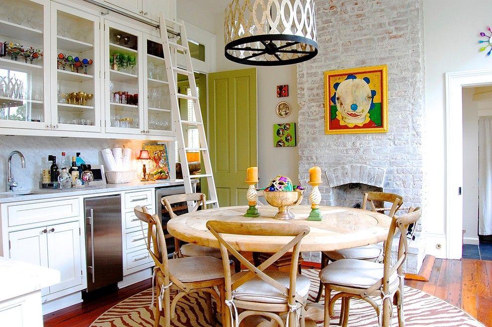 Küche Interieur Design Kunstwerk bunt aktuell