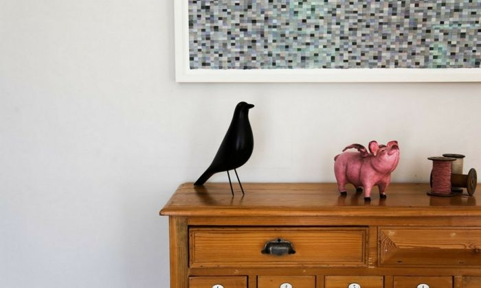Keramikvogel als Deko und Wohnaccessoire-Schöne Vogelaccessoires