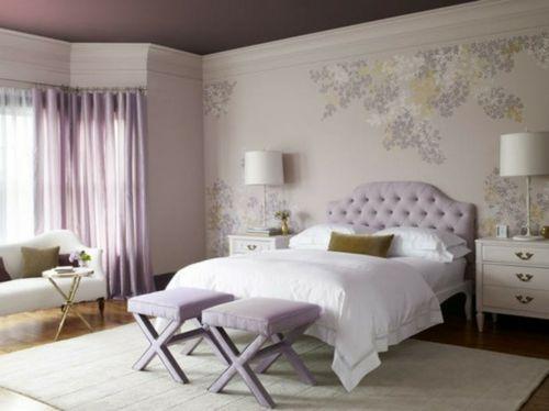 Lavendel bring Romantik und Entspannung ins Schlafzimmer