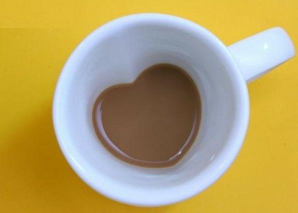 Ich liebe dich, meinen heißen Kaffee!