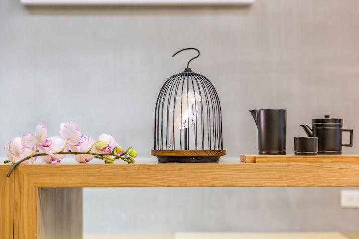 Modern Design Interior vogelformig Lautsprecher Leuchte Licht delikat Teetime