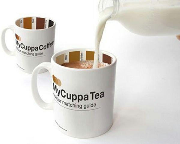 My Cuppa Tassen eignen sich für Kaffee und Tee