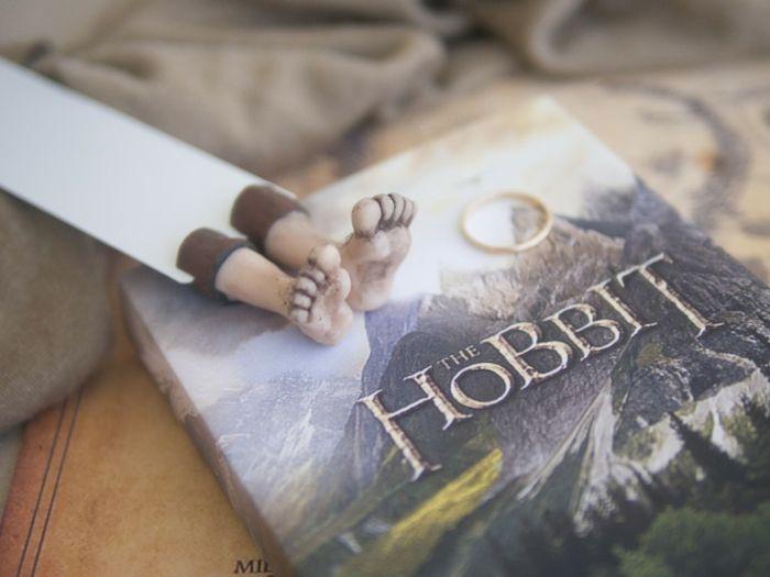 """Barfuß im Buch """"Der Hobbit"""""""