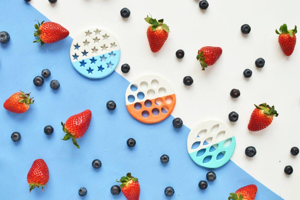 Sommerstimmung mit frischem Obst und DIY Untersetzern