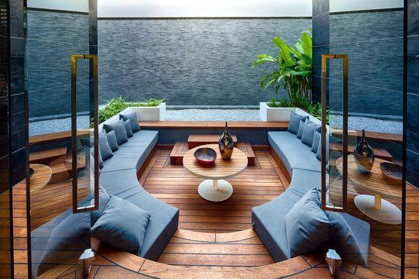 Eine Traumterrasse zum Wohnzimmer