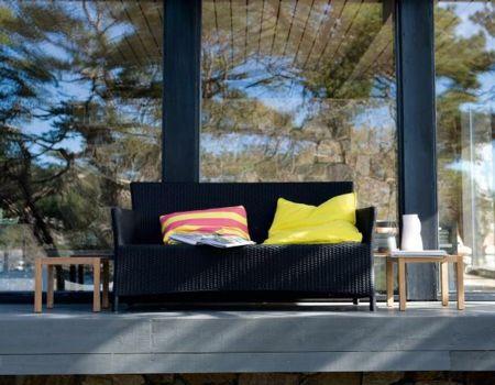 Eine gemütliche Entspannungsecke auf Ihrer Terrasse