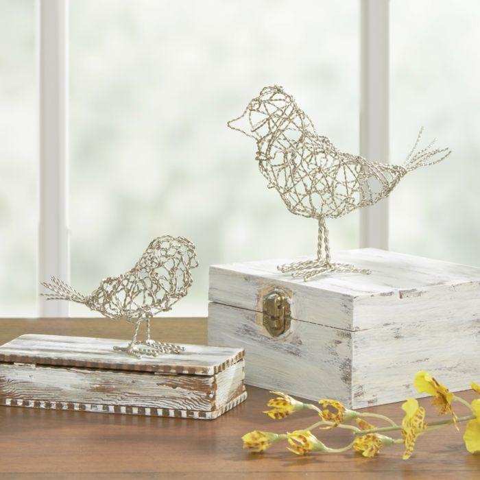 Vogelfiguren als Deko und Wohnaccessoires-Schöne Vogelaccessoires