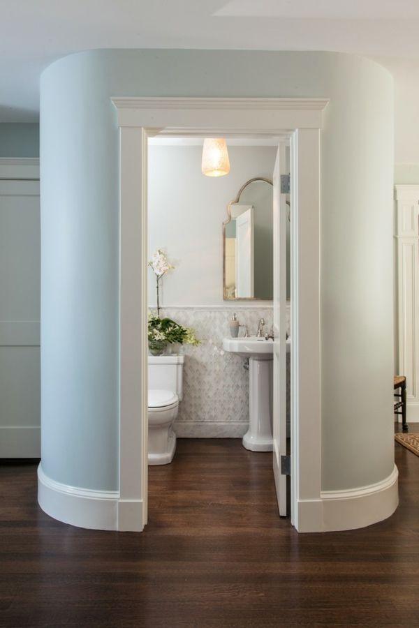 Waschtisch Toilletentisch Waschbecken modern Luxus Holzboden