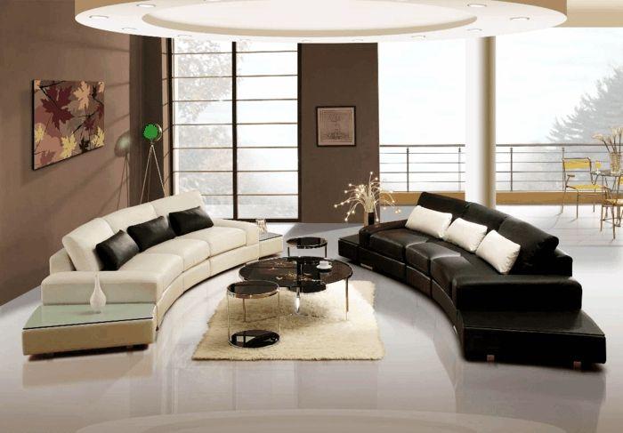 Yin und Yang treten paarweise auf und sorgen gemeinsam für Harmonie und Ausgleich in diesem Wohnzimmer