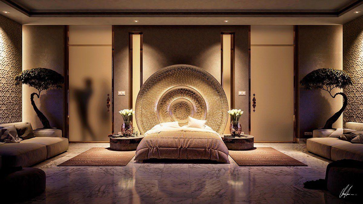 Chinesischer Look, mit Licht betont