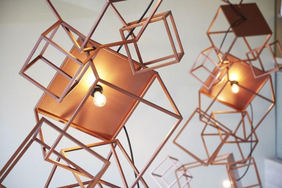 Designerische Lampen Glühbirne Interieur Shugaa Kaffeehaus