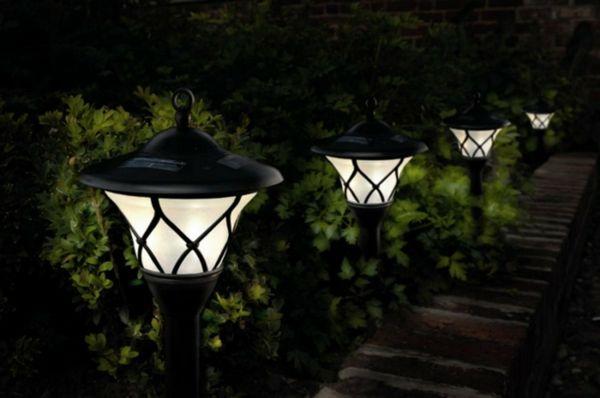 Die richtige Platzierung der Beleuchtung umwandelt jeden Garten zu einem besonderen Ort