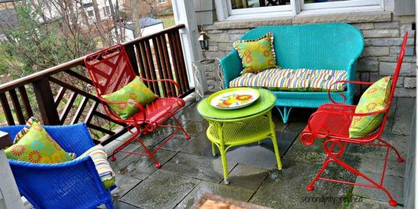 Für jede Stilrichtung kann man die passenden Gartenmöbel finden