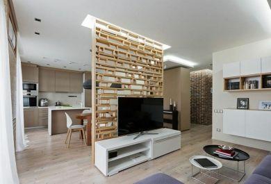 tolle innengestaltung ohne wände – eine zeitgenössische wohnung in, Wohnzimmer dekoo