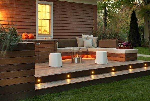 Gartenbeleuchtung für einen schönen Garten bei Tag und Nacht