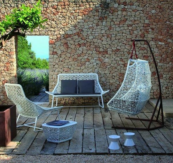 Hängesessel für Terrasse und Balkon