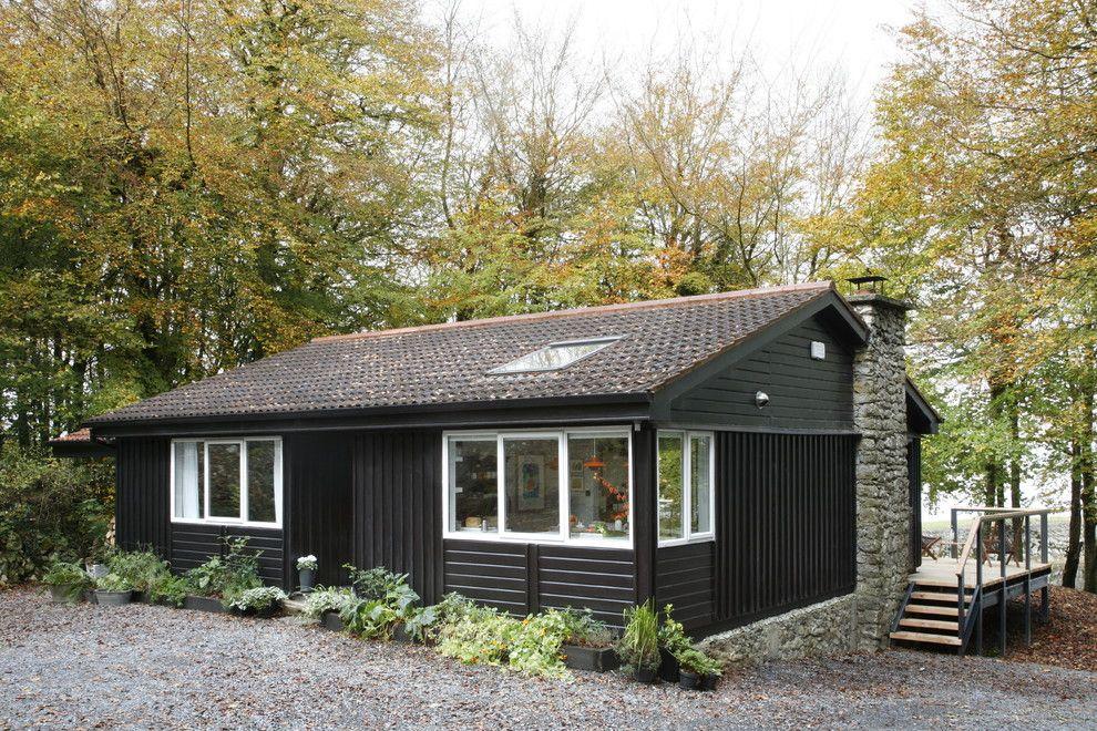 Die perfekte Hütte soll über eine Veranda mit einer herrlichen Aussicht verfügen