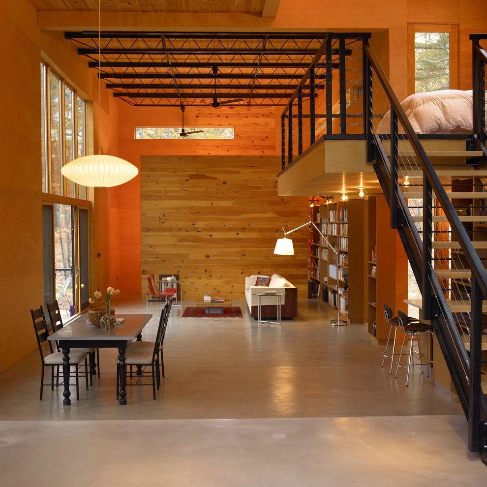 Eine moderne und kreative Hütte
