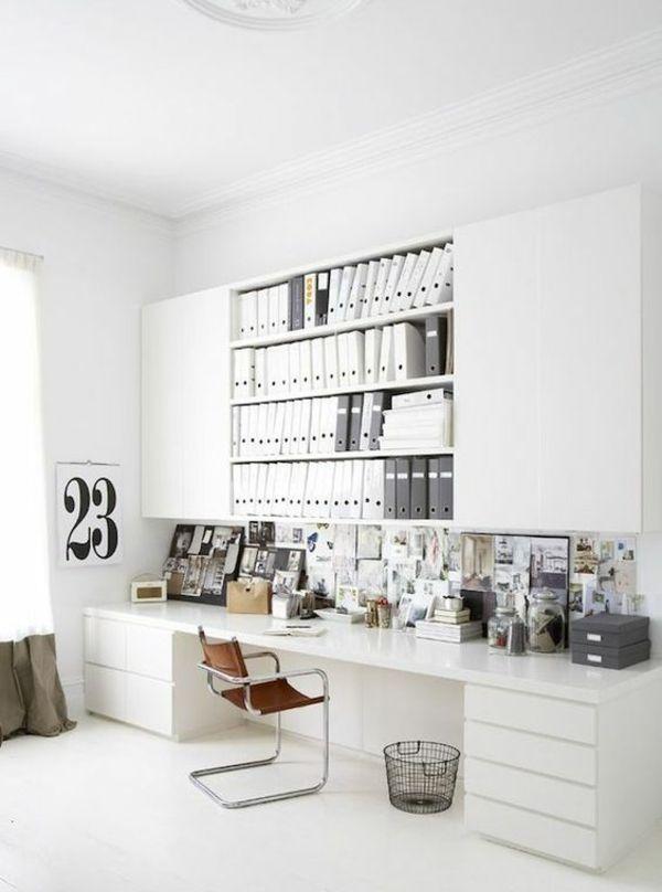 Ordner Schriftverkehr Ambiente weiß Büro zu Hause