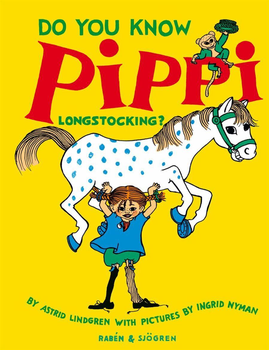Pippi Langstrumpf - das freche Mädchen mit Sommersprossen und zwei roten Zöpfen