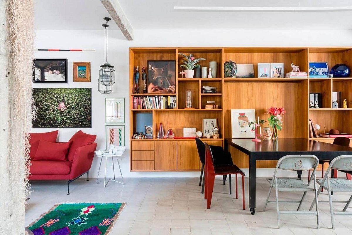 wohnung mit bunten interieur akzenten bilder – truevine, Innenarchitektur ideen