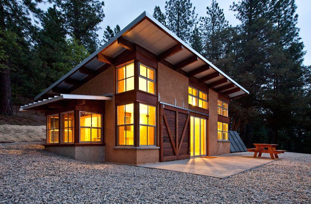 Sonnenenergie Ferienhaus Eckfenster trendig Architektur