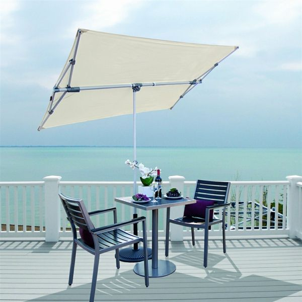 Sonnenschirme und Sonnensegel können keinen 100 UV-Strahlenschutz gewährleisten