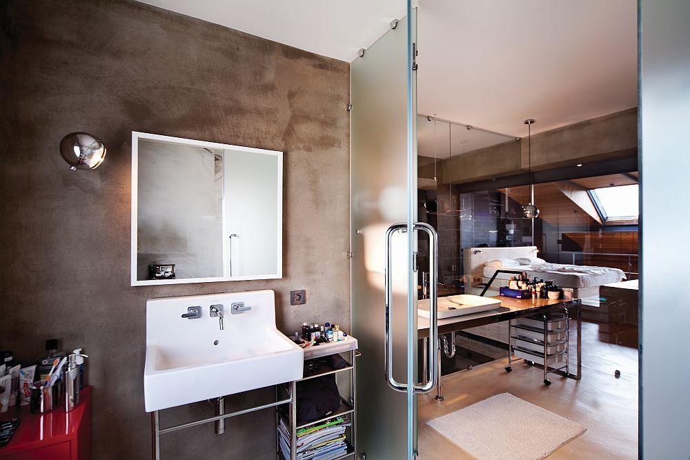 Trennwände aus Glas sind eine moderne und attraktive Möglichkeit im Interieur