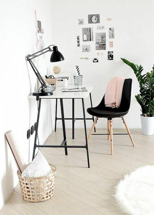 entferter Zugang Büro zu Hause schöne Gestaltung