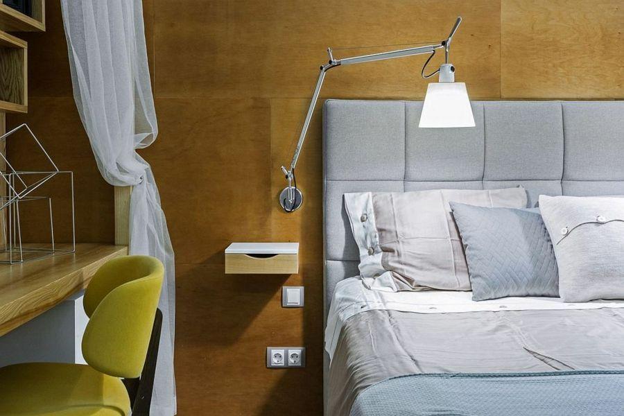 Die Nachttische sind keine Aufbewahrungsmöbel, diese sollten auf keinen Fall groß sein, denn da braucht man nur das Notwendigste