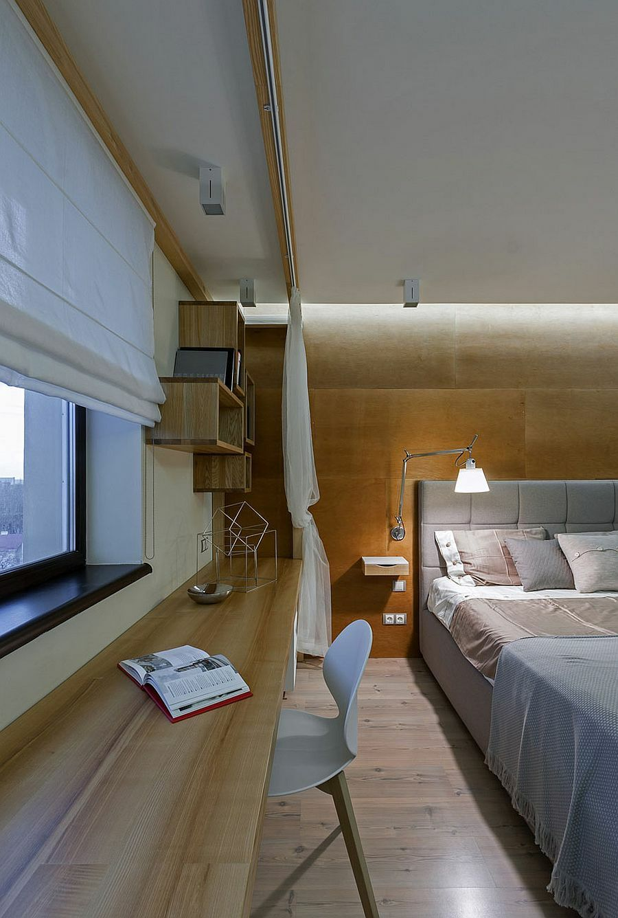 tolle innengestaltung ohne w nde eine zeitgen ssische wohnung in der ukraine. Black Bedroom Furniture Sets. Home Design Ideas