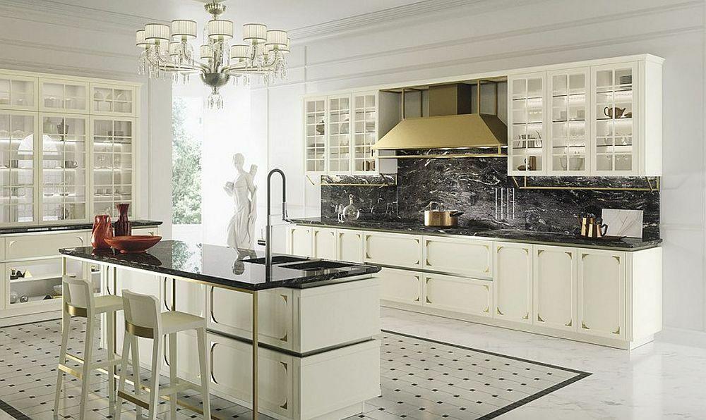 Die Granitplatten sind nicht nur schön und luxuriös, sondern auch sehr praktisch