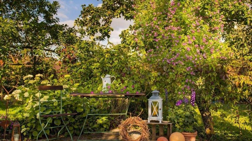 20 Ideen Für Gartengestaltung Im Landhausstil 855x480