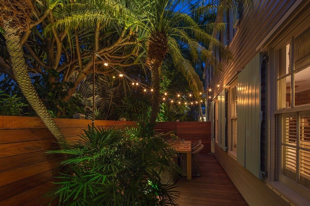 Beleuchtung Ideen Garten Terrasse