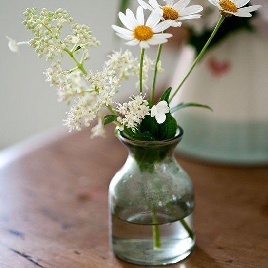Blumendeko garten partydeko ideen