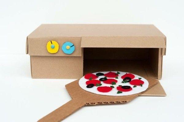 DIY Küche Backofen Pizza Kinderzimmer