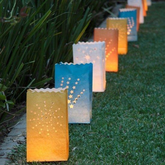 Deko Leuchten Garten Party Lichter Laterne