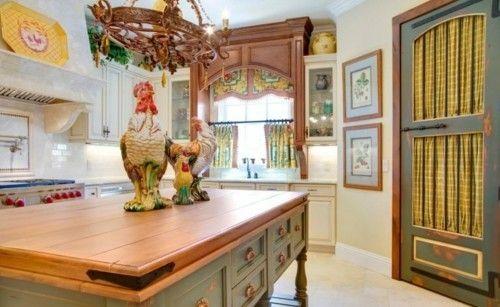 Die Küche im Provence Stil