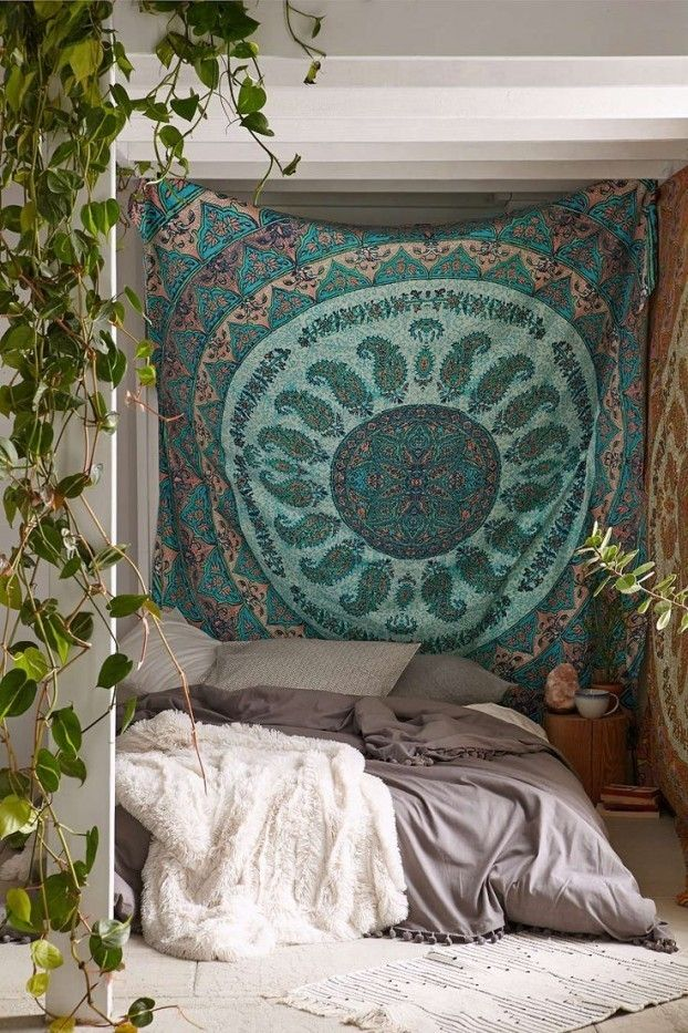 Doppelbett Bohemian Stil Luxus Bettwäsche