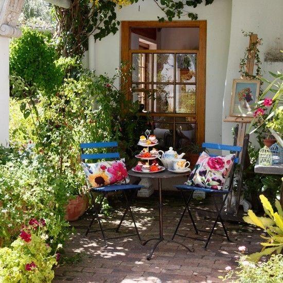 Gartenparty deko gartenmöbel