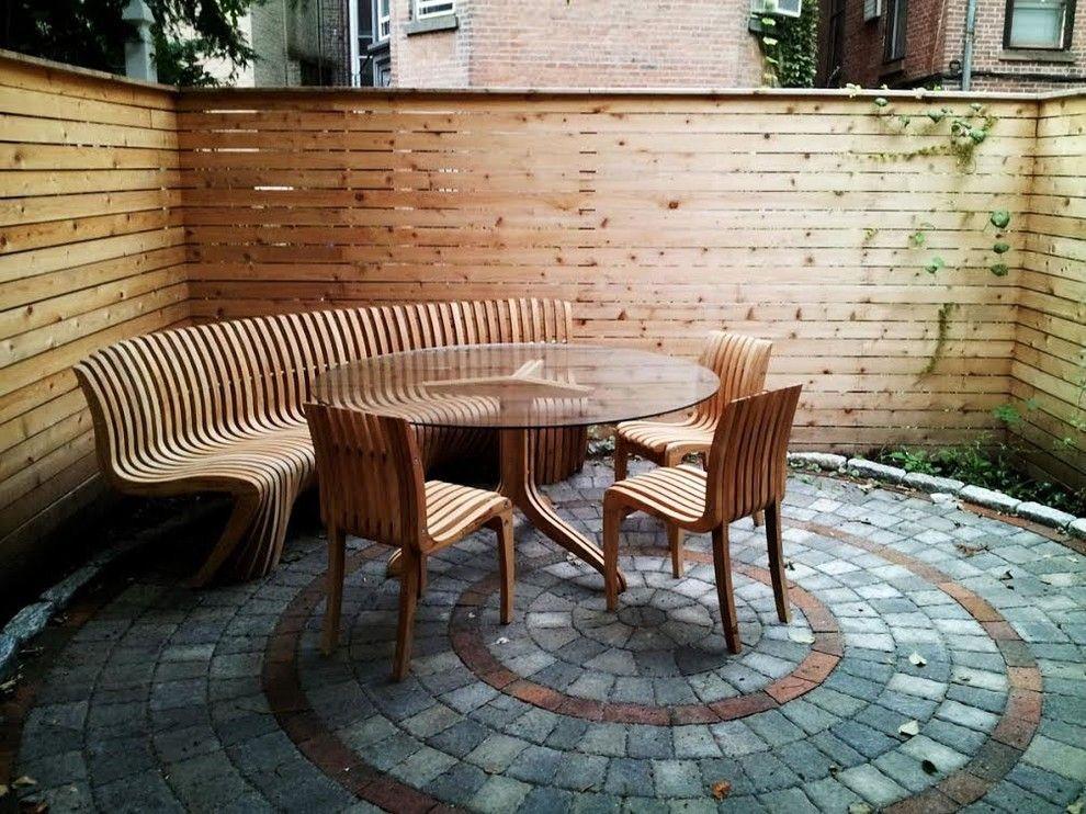 Gartentisch holz modern  Gartentisch Holz Modern: Gartentisch domus ventures provence ...